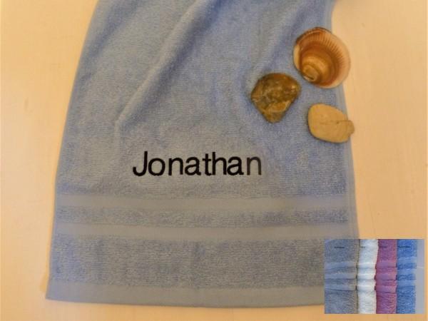 Handtuch (50x100cm) mit Wunschnamen